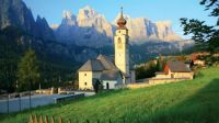 Colfosco Church, Dolomites