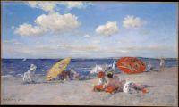 William Merritt Chase, At the Seaside, ca. 1892