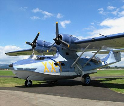 Catalina Seaplane WW2