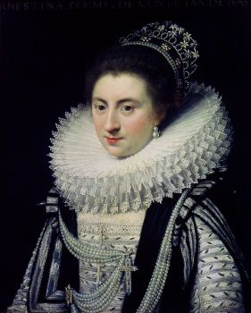 Ernestine Yolande (1594-1663), Princess of Ligne by Jan Anthonisz. van Ravesteyn