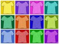 Stripy Tees!! ~ XL