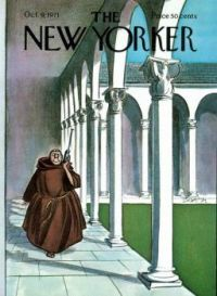 The New Yorker - October 9, 1971   Cover artist - Charles Saxon