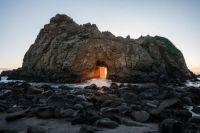 Pfeiffer Beach, Big Sur, California, USA