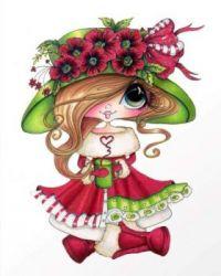 Warm Cupa Hearts by Sherri Baldy