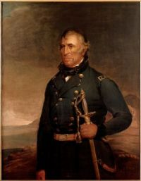 Zachary Taylor, 12th President of the United States, 1849-1850.