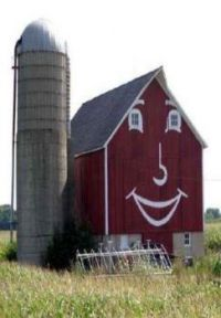a happy barn in WI