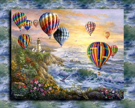 Nickey Boehme~Balloon Festival