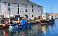 Cromwell harbour, Dunbar, Scotland