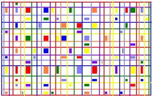rainbow lines and squares (small)
