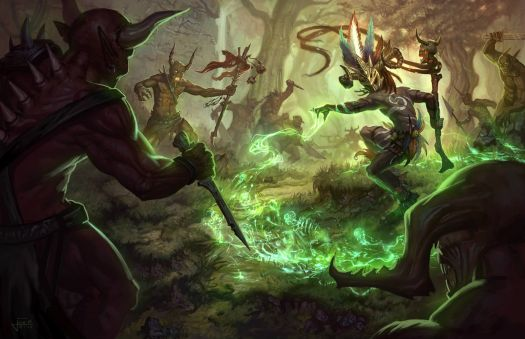 Witch Doctor Fight