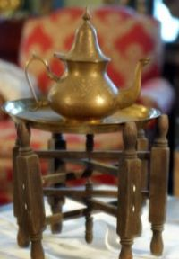 Bedouin Tea Pot and Stand