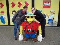 In Legoland (Denemarken)