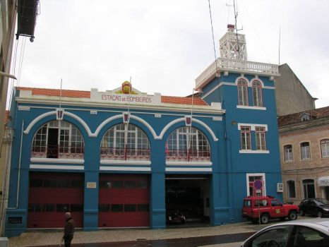 fire station in Porto