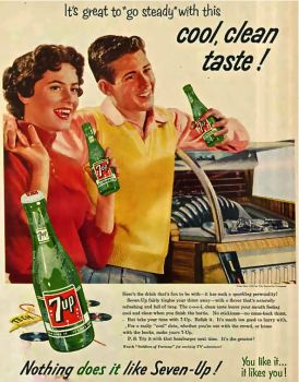 7UP - 1950'S AD