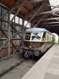 GWR Railcar at Didcot