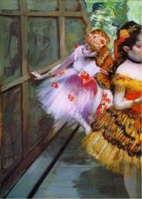 Ballet dancers in butterfly costumes