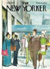 The New Yorker - August 3, 1973  / Cover art by  Charles Saxon
