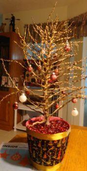 A Charlie Brown Christmas tree!