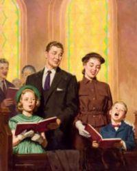 """Singing Hymns"""