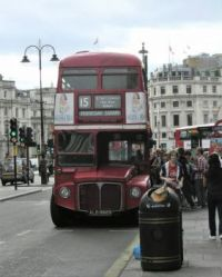 ROUTEMASTER at Trafalgar Square