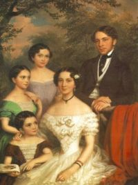The Family Dégenfeld (1854)