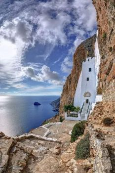 Amorgos island, Cyclades region, Greece