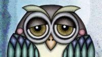 One Bored Owl