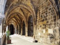 Cloisters at cathedral in Lisbon