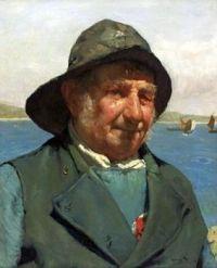 Edwin Harris (British, 1855–1906), The Old Salt