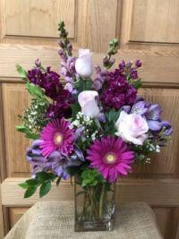 Happiness is….Delightful Floral Arrangement!