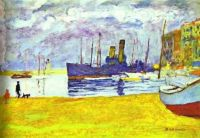 Pierre Bonnard's Le Port de Cannes {1927)