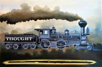 ''Train of Thought''  by  Robert Deyber