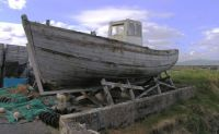 Old Fishing Boat near Helvick Harbour