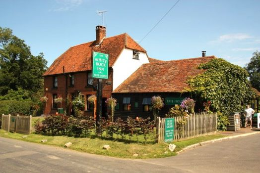 The White Rock Inn, Underriver, Kent.  Photo by Richard Croft