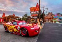 Lightning McQueen Cars Land Hard
