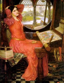 The Lady of Shalott by Waterhouse
