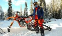 THEME Snow Games:- Snowbike