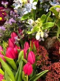 V květinářství