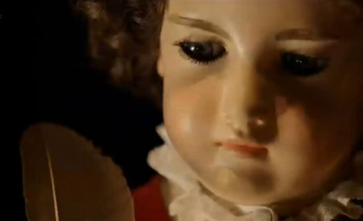 For all the doll people, a 240 year old writing doll