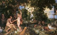 Rubens - Adam and Eve in Worthy Paradise (1610)