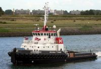 """Afon Cadnant"". One of my old firm's newer tugs!!"