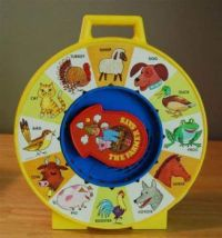 Vintage Farmer Says Toy