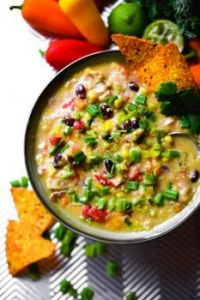 Cheesy Quinoa Fiesta Taco Chicken Soup - FOOD PHOTO SHOOT