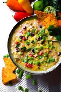 Cheesy Quinoa Fiesta Taco Chicken Soup - FOOD PHOTO SHOOT