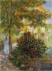Claude Monet - Camille Monet in the Garden at Argenteuil, 1876 (May17P11)