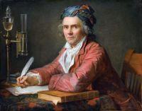 Jacques-Louis David Portrait of Doctor Alphonse Leroy (1783)