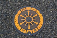 Utility cover in Japan