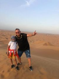 In the Dessert for Ank
