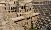 Chand Baori in the village of Abhaneri, Rajasthan, India