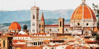Rooftops of Florence, Italy